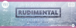 06/12/13 – BLACK BUTTER – Rudimental, My Nu Leng & Guests, Southampton