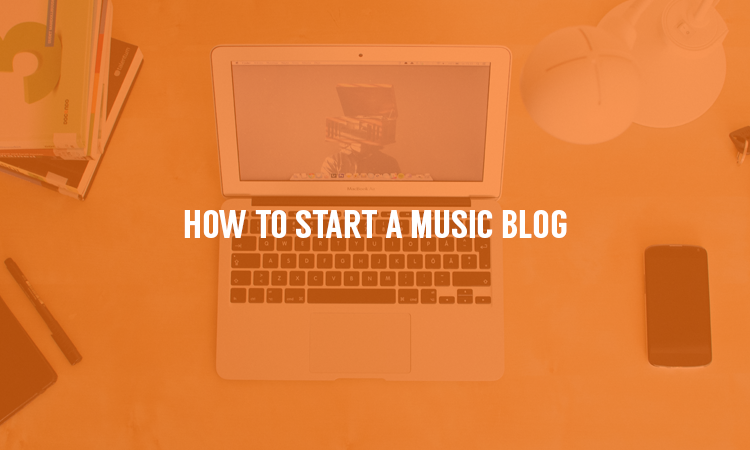 A step by step guide on how to set up your own music blog or website.