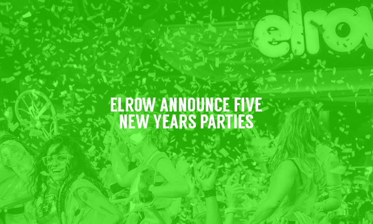 Elrow Plan 5 New Years Events