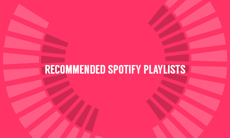 NEW SOUNDPLATE.COM FEATURE: RECOMMENDED SPOTIFY PLAYLISTS – Add a playlist now!