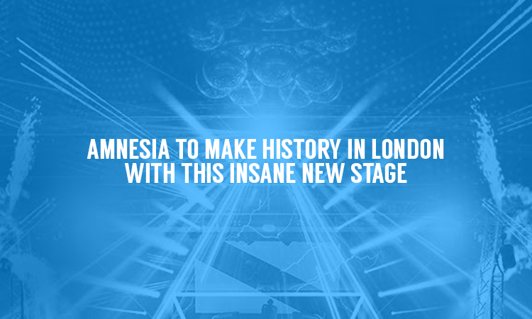 Amnesia To bring Insane New Pyramid Set-Up To London on Saturday 4th March