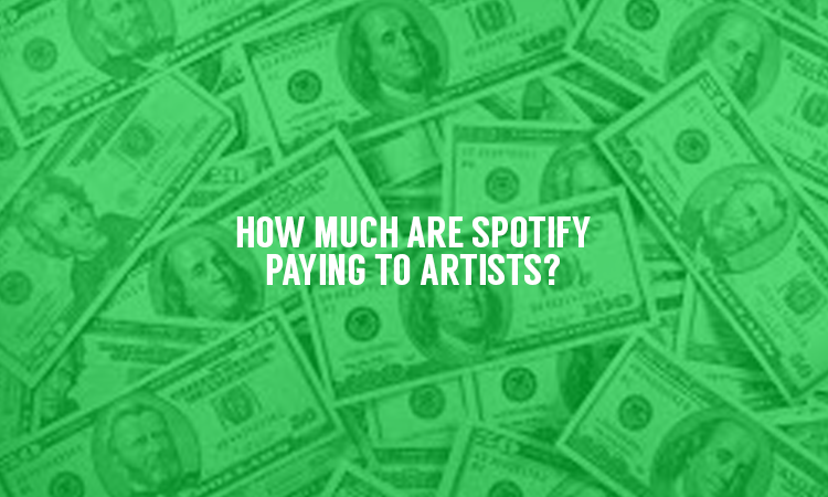 How much do Spotify pay your favorite artist?