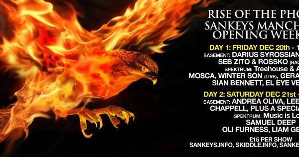 21/12/13 – Sankeys Opening Day 2, Manchester