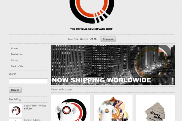 THE ALL NEW SOUNDPLATE SHOP – Open Now!!
