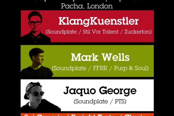 Soundplate at Pacha London – 11.04.14