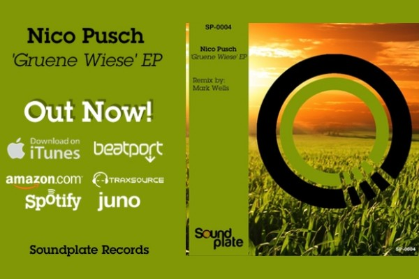 Nico Pusch – 'Gruene Wiese' – Out now!