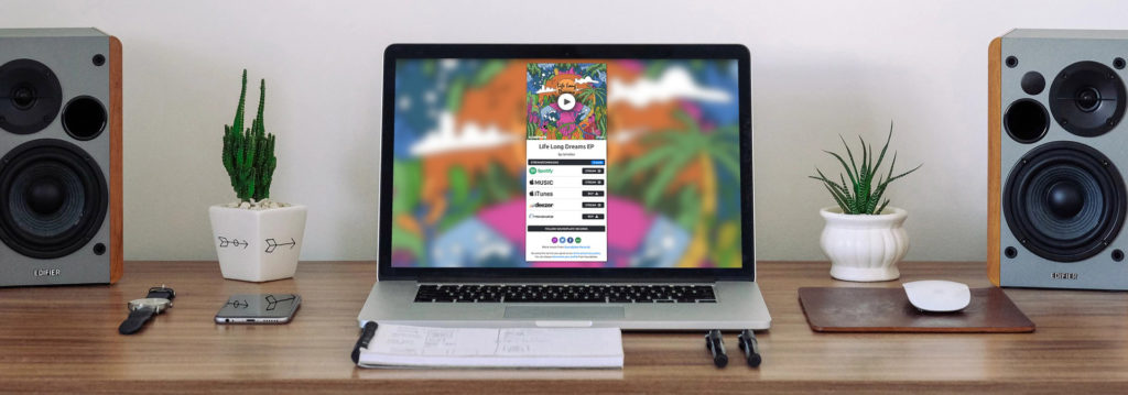 Music Smart Link on Macbook